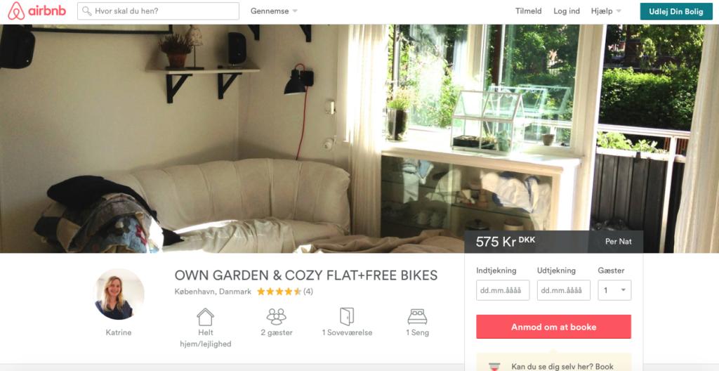 airbnb - copenhagen